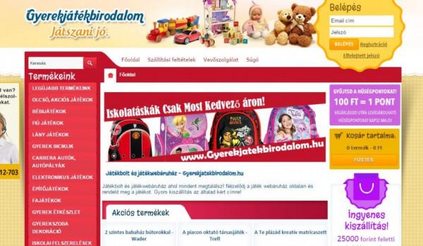 Gyerekjáték Webáruház